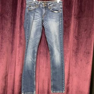Levi's 524 Too super low skinny jeans